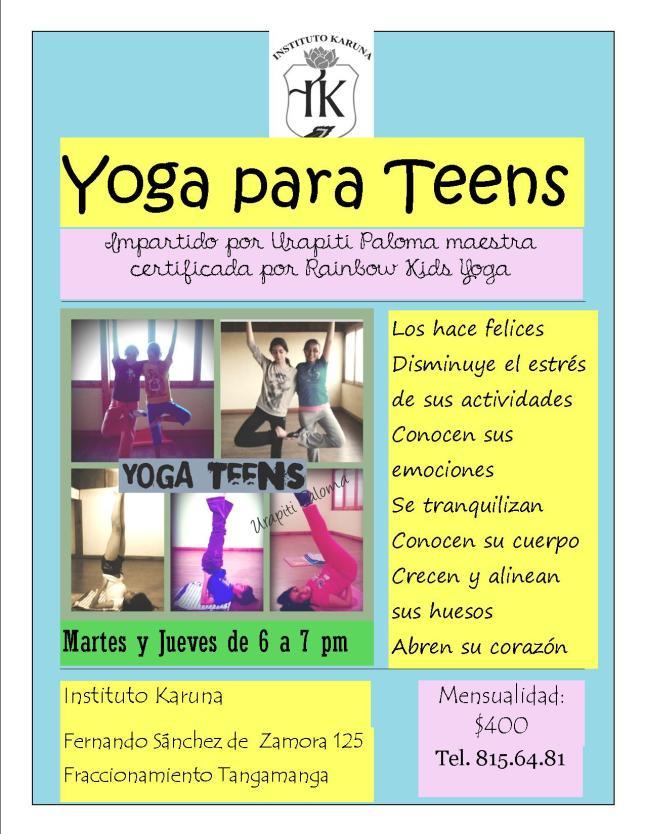 yoga teens